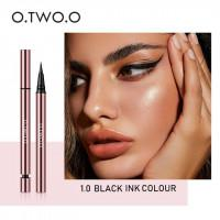 Подводка для глаз O.TWO.O Ink Color waterproof eyeliner pen (арт 1008) №1.0 Black