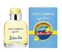 "D&G ""Light Blue Italian Zest Pour Homme"" 125ml"