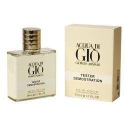 "Тестер Giorgio Armani ""Acqua di Gio"" edt for men, 50ml ОАЭ"