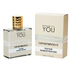 Тестер Giorgio Armani Emporio Armani Because It's You edp for women 50 ml ОАЭ