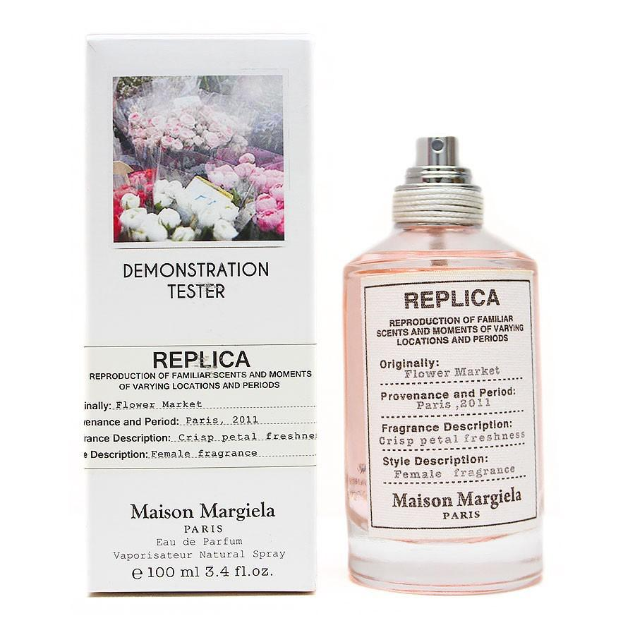 "Тестер Maison Margiela Replica ""Flower Market"" for woman 100 ml"